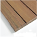 Smooth Surface IPE deck tiles
