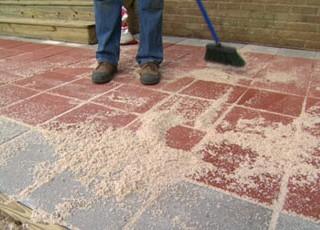 Sand Set Installation Method Tile Tech Pavers