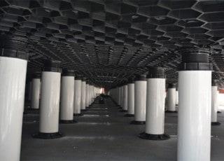Snow Melt Pedestal Pavers Tile Tech Pavers 174 Roof Pavers