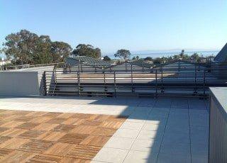 IPE Decking Tiles & Concrete Pavers