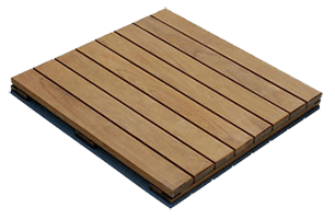 IPE Deck Tiles - Top