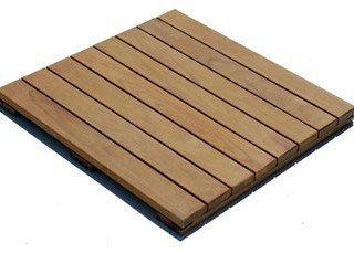 Roof Pavers - IPE Wood