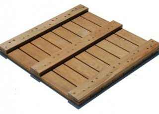 IPE Deck Tiles Back
