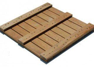 IPE Deck Tiles Back