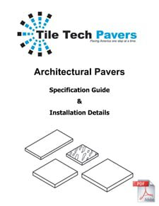 Concrete Pavers Installation Details