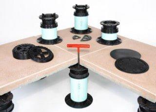 Deck Pedestals & Concrete Pavers