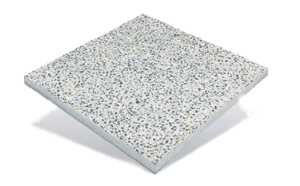 Porcelain Terrazzo Pavers On Pedestals