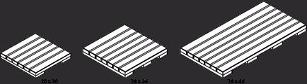 IPE Deck Tile Sizes