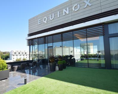 Equinox Fitness Club - Amenity Deck