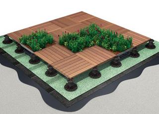 Green Roof & Deck Tiles