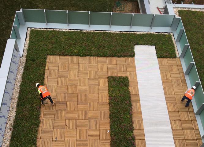 Living Roof & Wood Deck Tiles