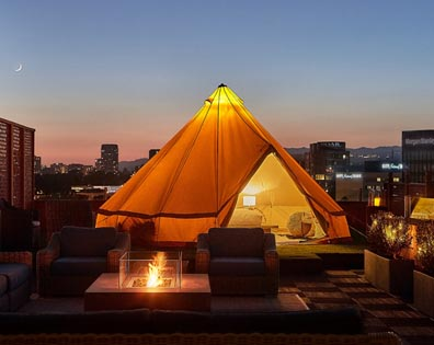 Rooftop Deck - Beverly Wilshire Hotel