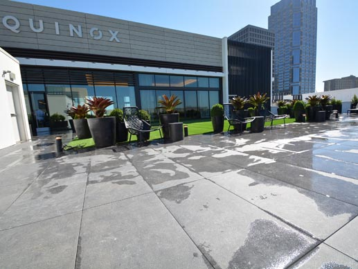Gym Rooftop Deck Pedestal Pavers