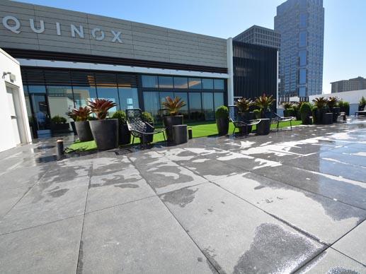Gym Rooftop Deck Pedestal Pavers