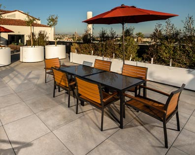 Hollenbeck Apartments - Terrace Deck