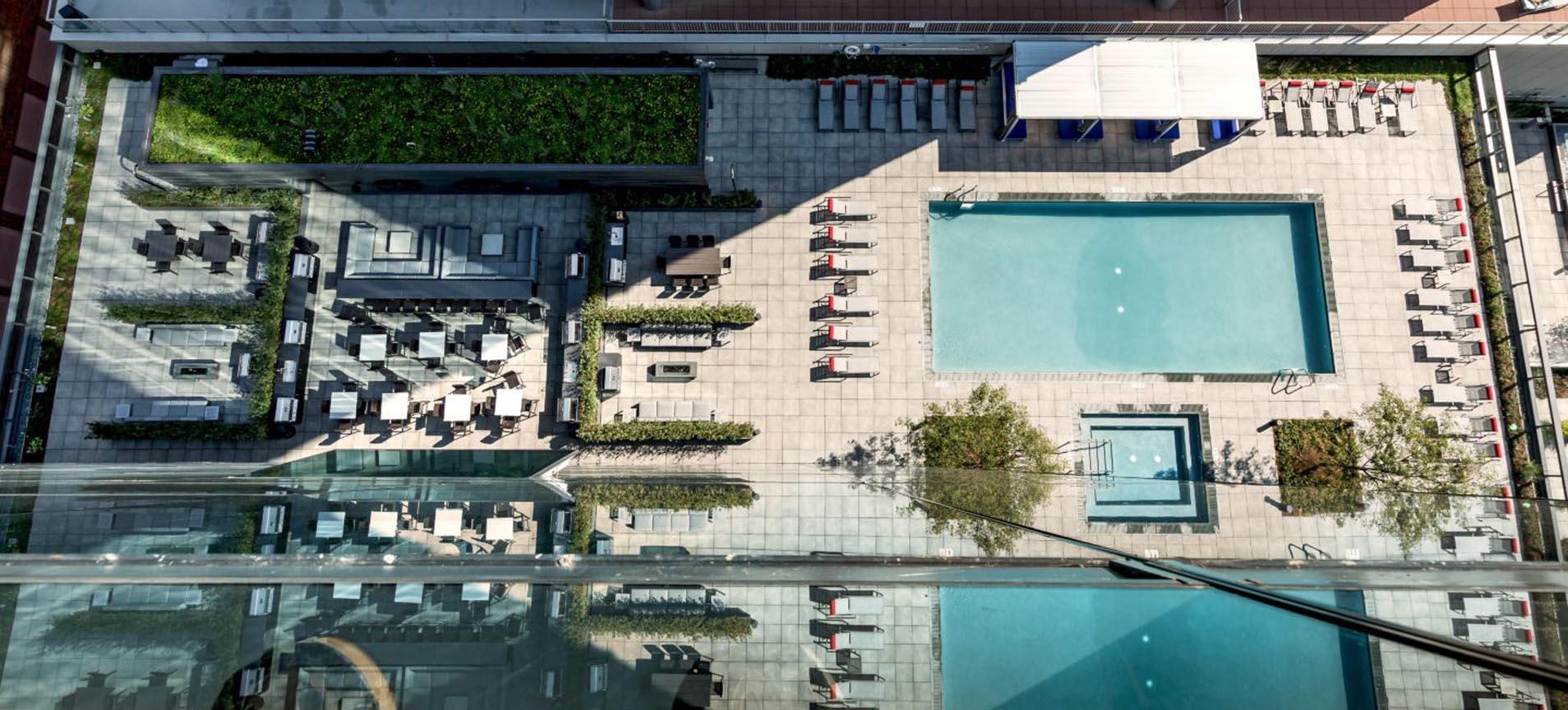 Project Spotlight: Optima II Apartments, Chicago – Pool Deck