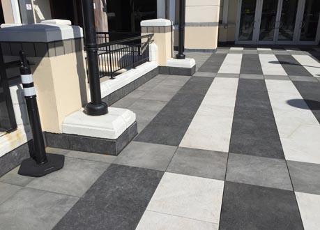 Porcelain Pavers Plaza Deck