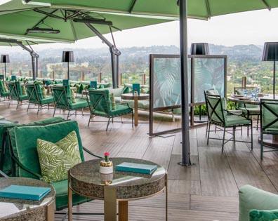 Rooftop Bar & Pool Deck - Waldorf Hotel