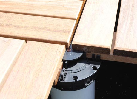 Deck Tiles | IPE Wood Decking Tiles - Tile Tech Pavers®