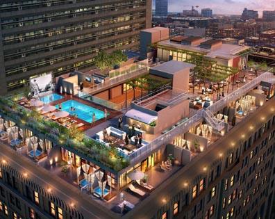 Hellman Building Condo - Pool Deck