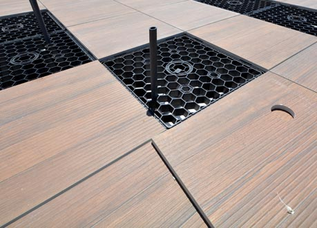 Wind Uplift Paver System Tile Tech Pavers Roof Pavers