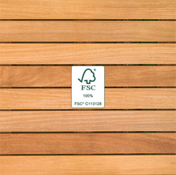 Cumaru Wood - FSC®