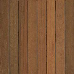 IPE Wood Deck Tiles