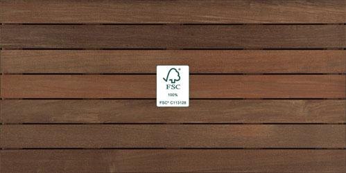 IPE Wood Tiles