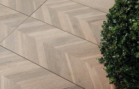 chevron oak tile tech pavers