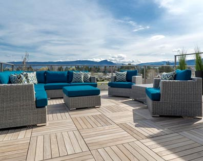Gyro Beach Townhomes - Roof Deck