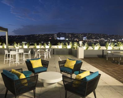 Empire At Burton Way Condo - Rooftop Deck