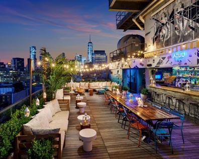Rooftop Bar - Hotel Hugo