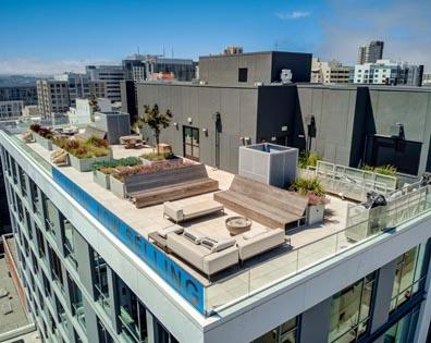 The Austin Condo - Rooftop Deck