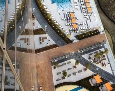 The Modern - Amenity Pool Deck