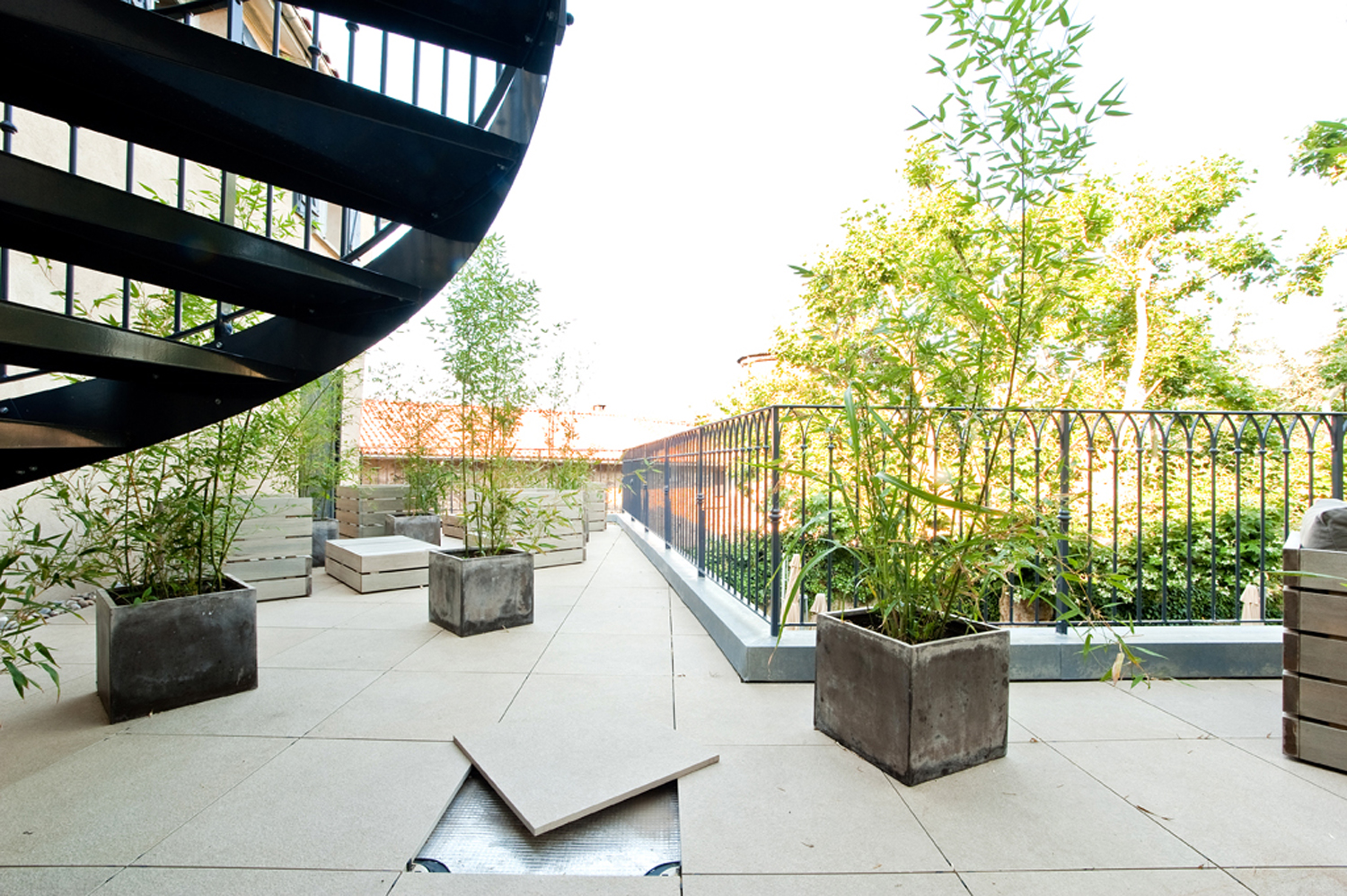 Be Eco-Friendly with Cool-Roof Pavers