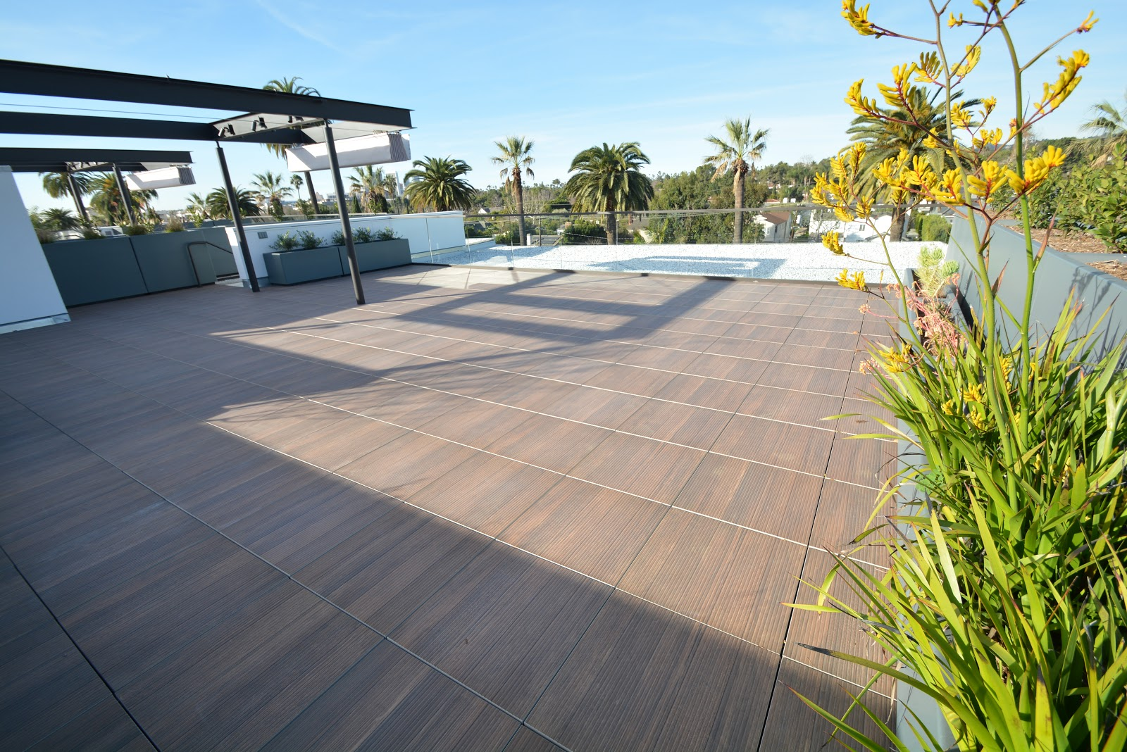 Transform Your Roof Deck with Porcelain Pavers