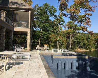 Lake Ozark Home - Pool Deck