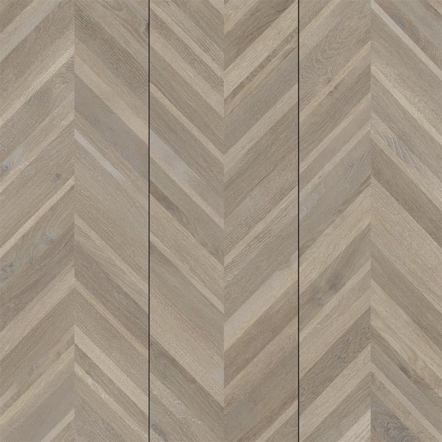 Wood Chevron Oak - Porcelain Pavers