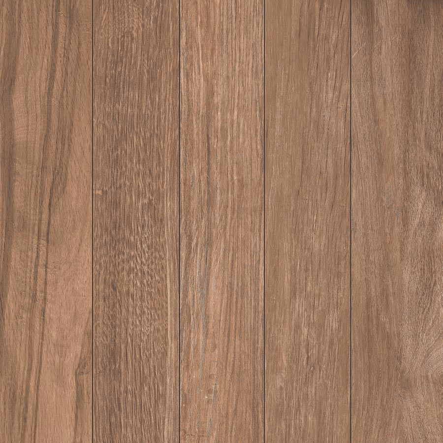 Wood Plank Mocha Porcelain Paver