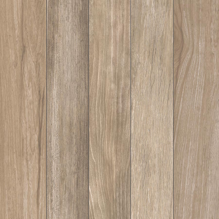 Wood Plank Natural Porcelain Pavers