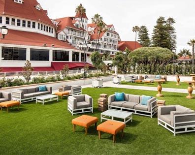 Turf Deck - Hotel Del Coronado