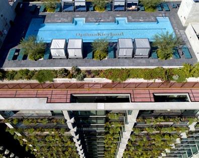 Optima Kierland - Rooftop Pool Deck